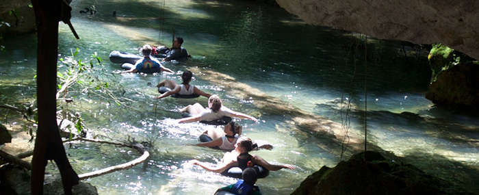 Cave Tubing